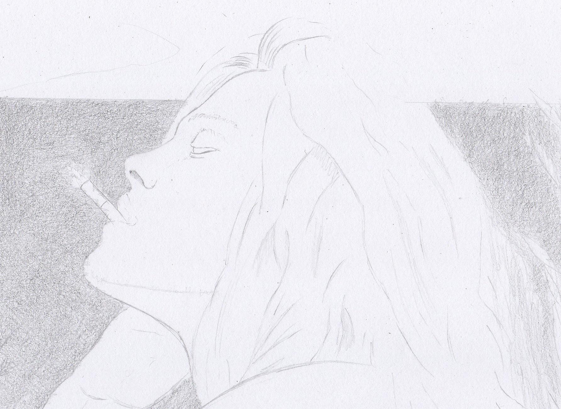 Profil Und Haare – Gesicht Von Der Seite innen Gesicht Von Der Seite Zeichnen