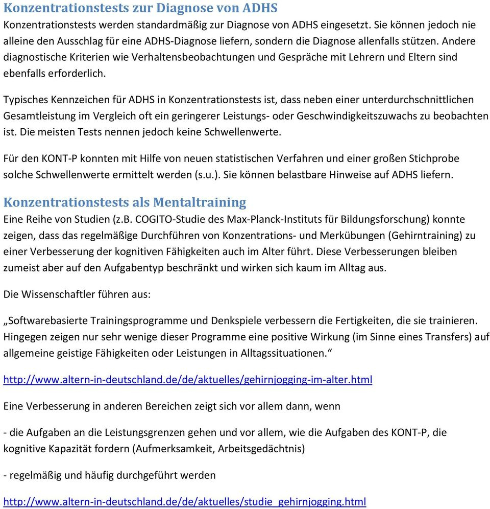 Psychomeda Konzentrationstest (Kont-P) - Pdf Free Download über Konzentrationstest Zum Ausdrucken