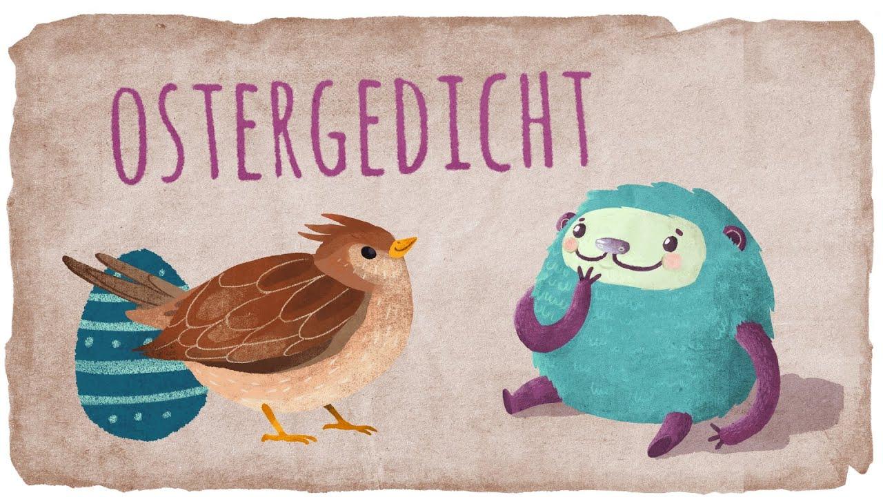 Putziges, Kurzes Ostergedicht Für Kinder Mit Flunkeblunk Zum Lernen innen Ostergedichte Für Kindergartenkinder
