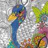 Puzzle Dschungel-Safari 5 - Puzzle Zum Ausmalen bestimmt für Puzzle Zum Ausmalen