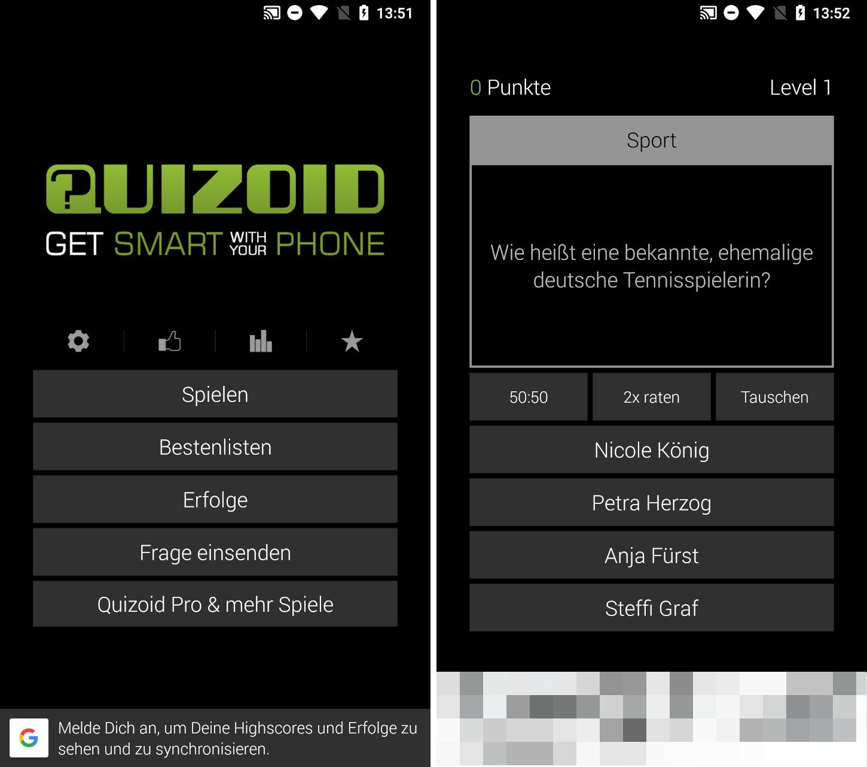 Quizoid: Allgemeinwissen-Quiz - Android App - Download - Chip in Fragen Zum Allgemeinwissen Mit Antworten