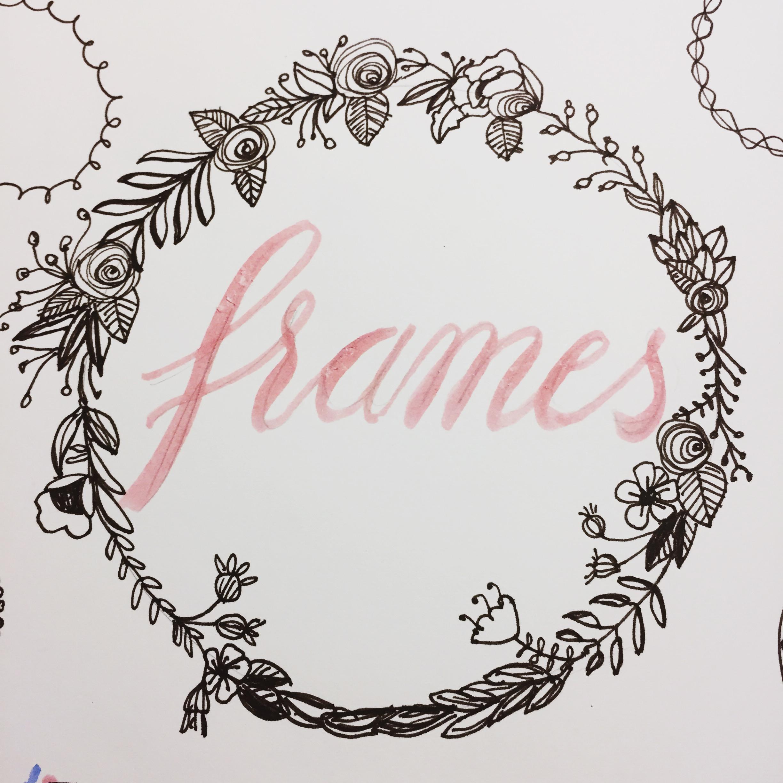 Rahmen Zeichnen - Ein Kleines Repertoire An Hübschen Rahmen bestimmt für Kreise Zeichnen
