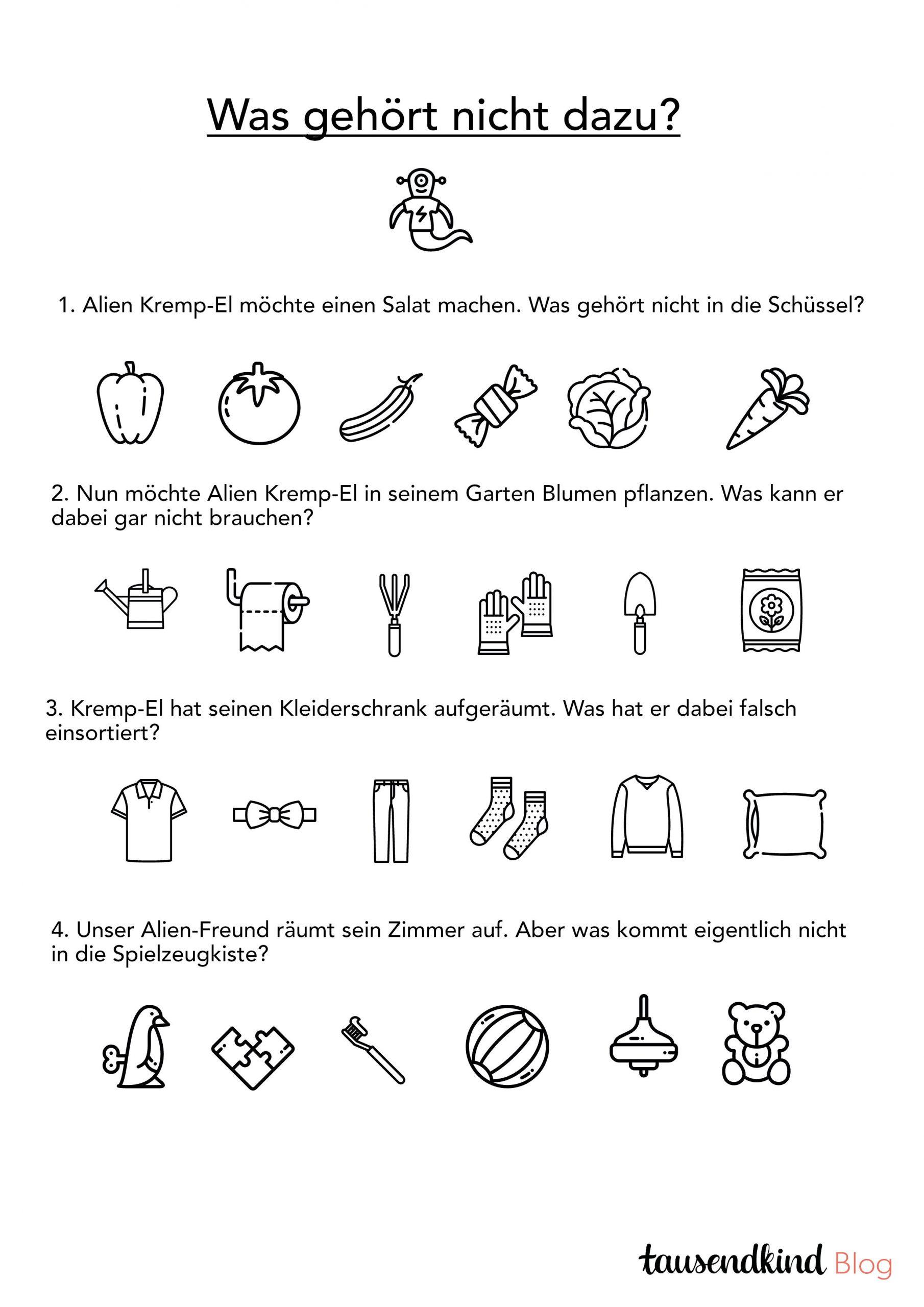 Rätsel Für Kinder Zum Ausdrucken - 5 Varianten Gegen Die über Kreuzworträtsel Für Kindergartenkinder