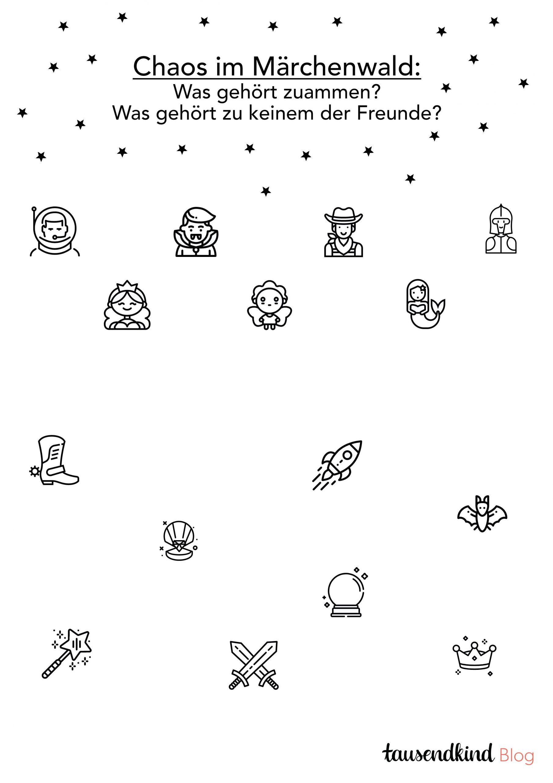 Rätsel Für Kinder Zum Ausdrucken - 5 Varianten Gegen Die verwandt mit Rätsel Im Kindergarten
