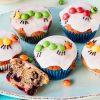 Raupe Nimmersatt-Muffins über Muffin Rezept Kindergeburtstag Einfach