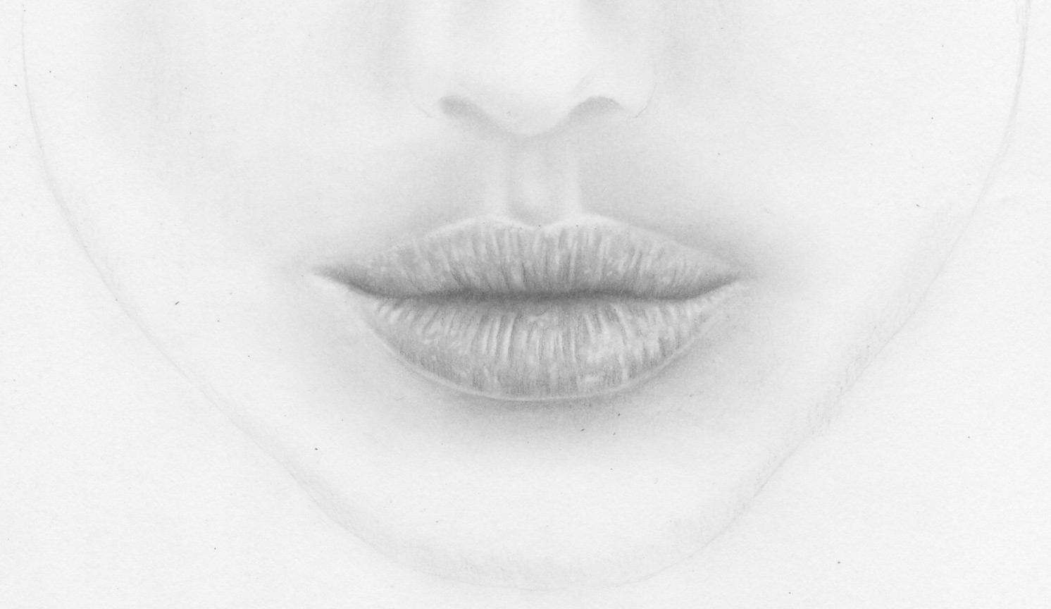 Realistische Lippen Und Weiblichen Mund Zeichnen Lernen ganzes Wie Kann Ich Zeichnen Lernen