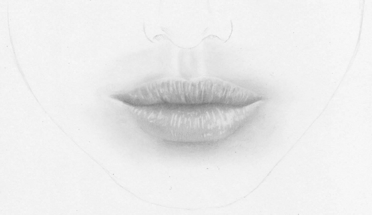 Realistische Lippen Und Weiblichen Mund Zeichnen Lernen über Perfekt Zeichnen
