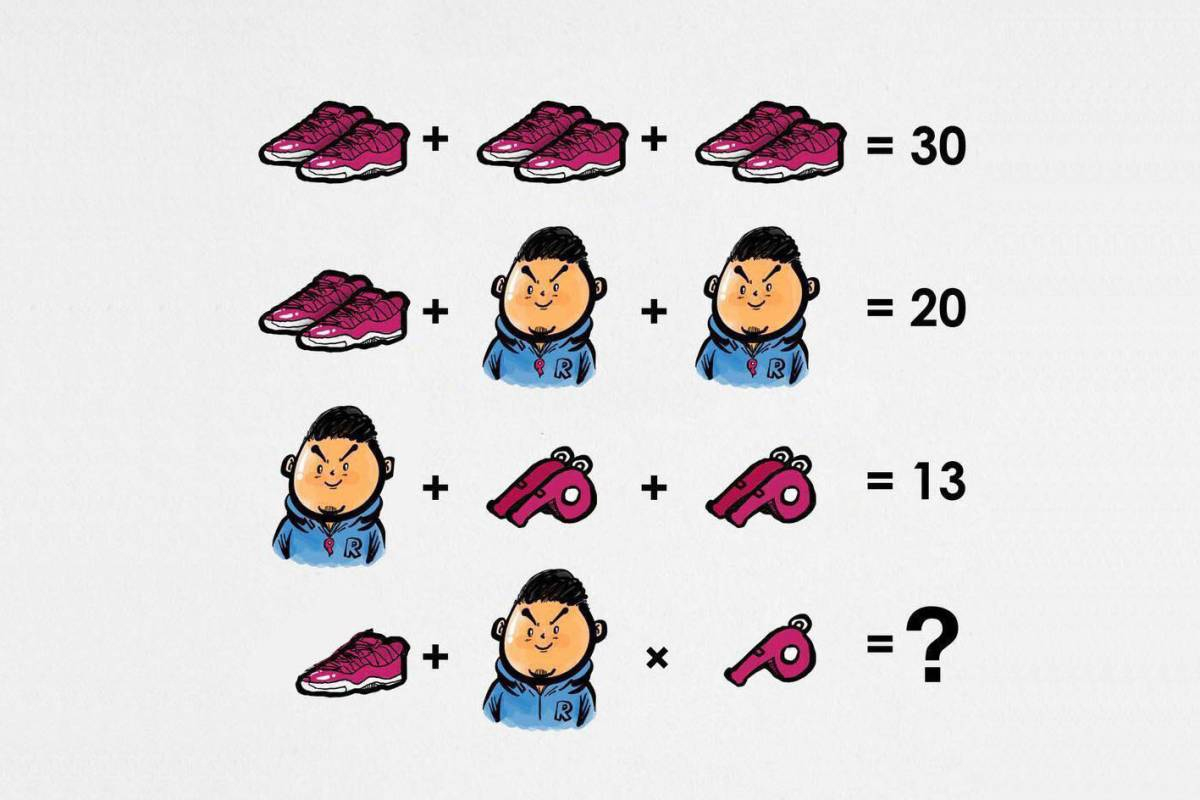 Rechen-Rätsel Mit Symbolen: Kommen Sie Auf Die Richtige über Bilder Rätsel Lösungen