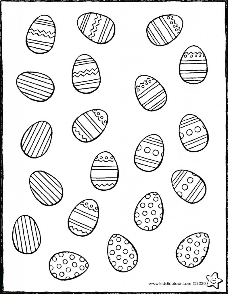 Rechenübungen Types Colouring Pages - Kiddimalseite ganzes Malvorlagen Ostereier