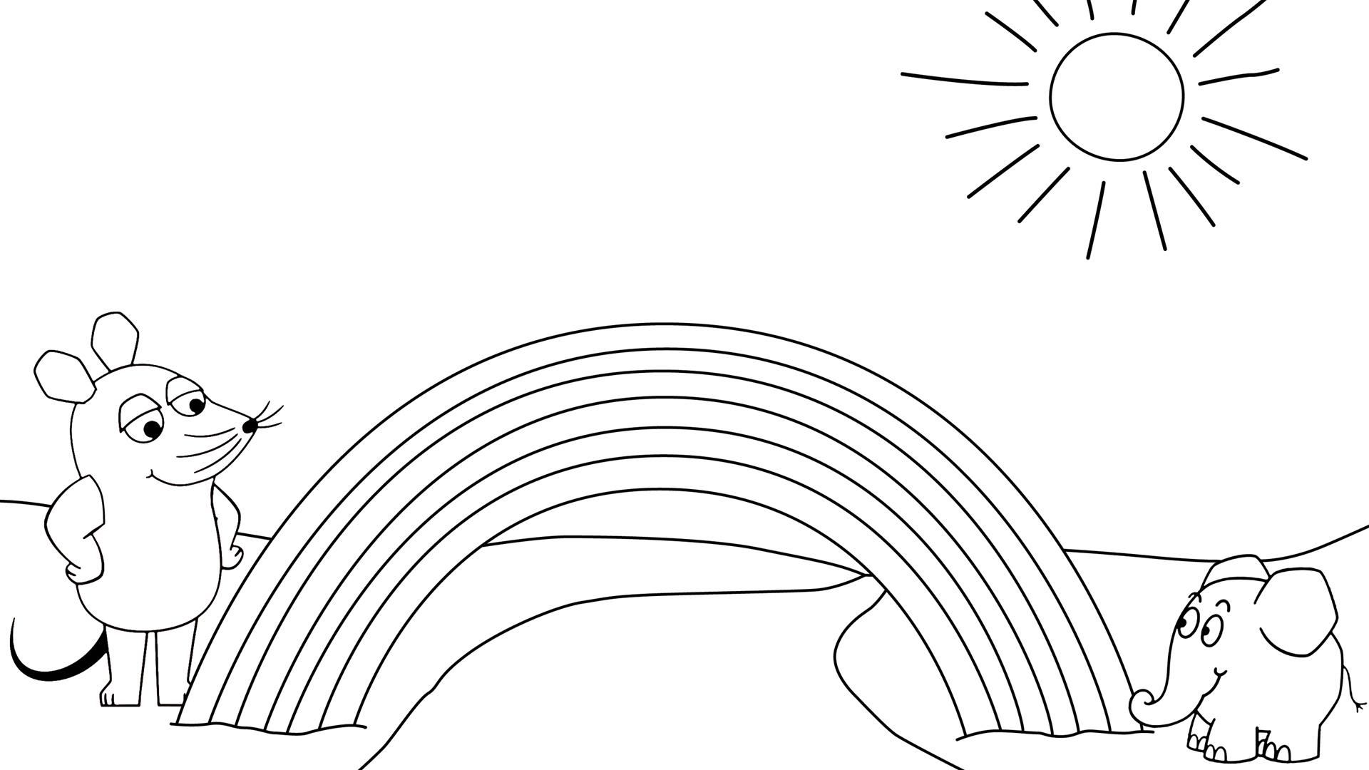 Regenbogen - Die Seite Mit Der Maus - Wdr verwandt mit Ausmalbilder Die Maus