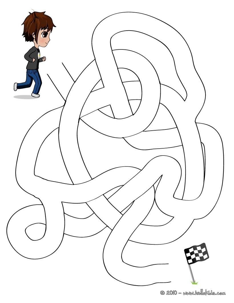 Rennen Einfaches Labyrinth Zum Ausdrucken Kostenlose Spiele über Labyrinth Spiele Kostenlos