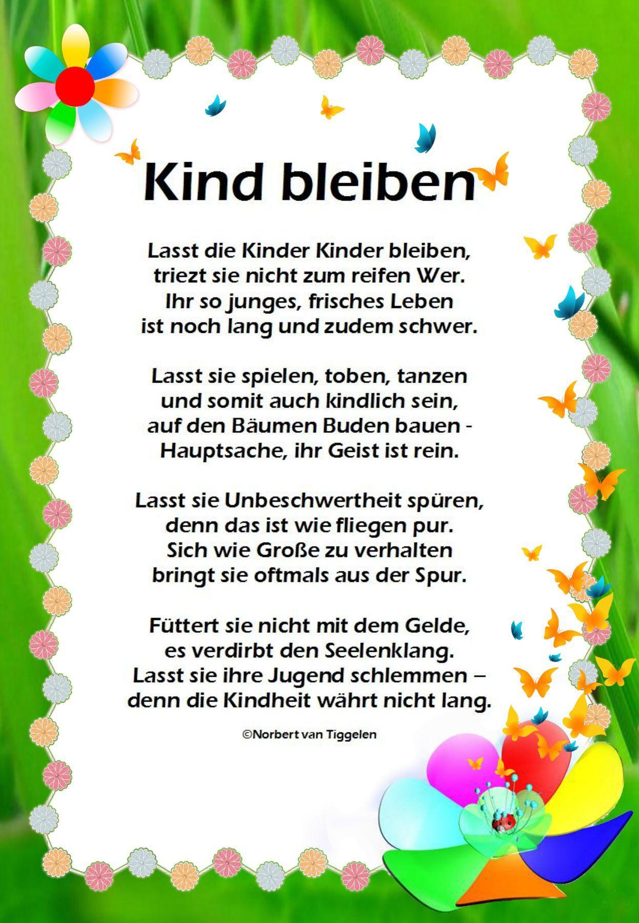 Geburtstagsgedichte Für Kinder Lustig - kinderbilder