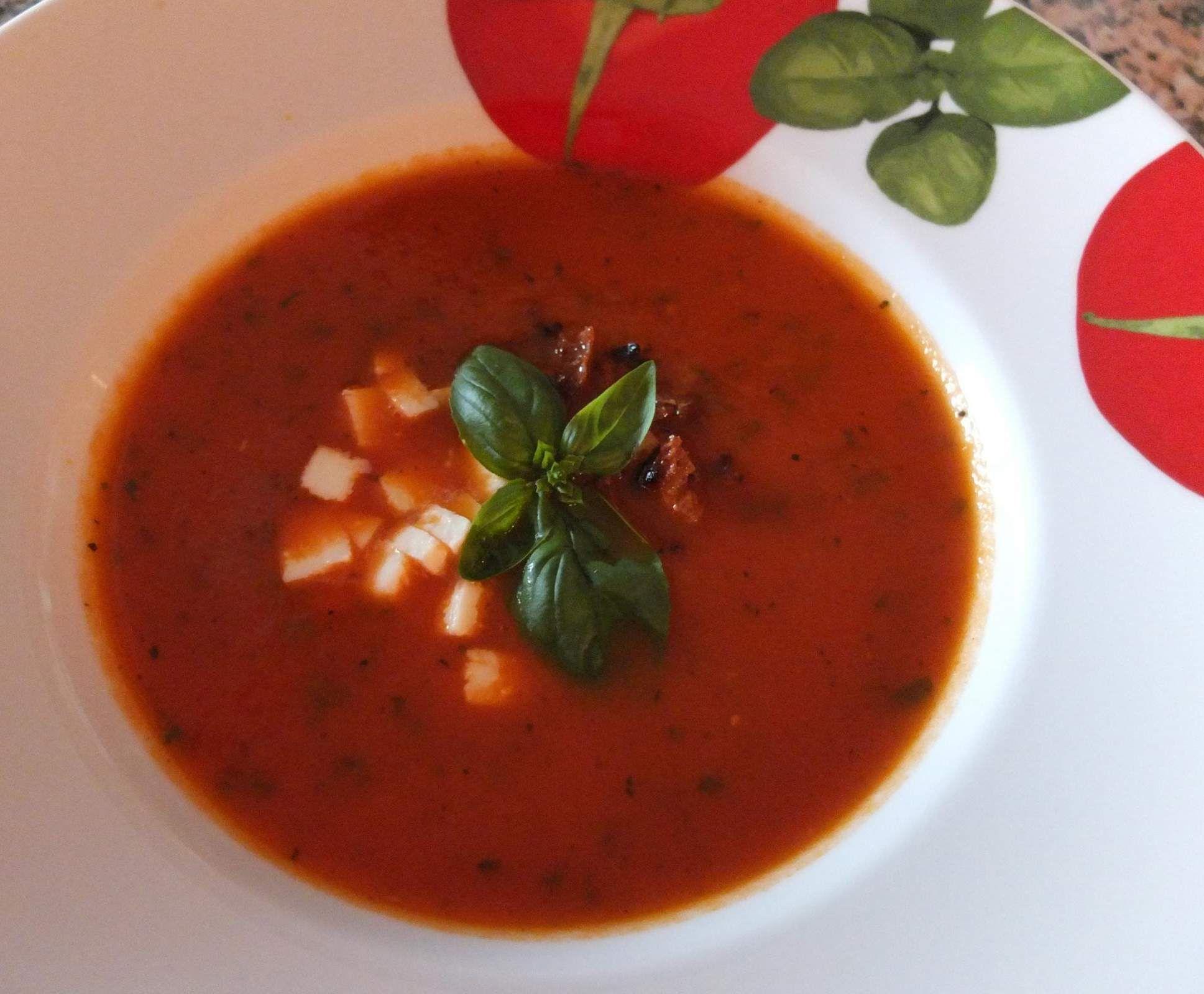 Rezept Tomatensuppe Aus Frischen Tomaten Von Schirmle bestimmt für Rezepte Tomatensuppe Aus Frischen Tomaten