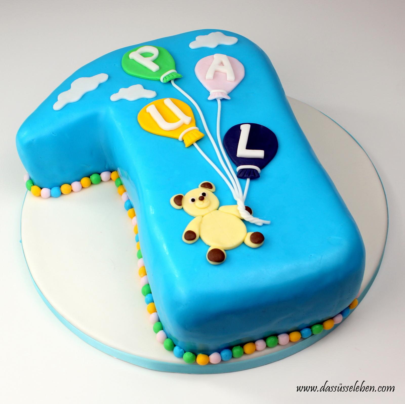 Rezept Torte Zum 1. Geburtstag   Das Süße Leben verwandt mit Geburtstagstorte Zum 1 Geburtstag