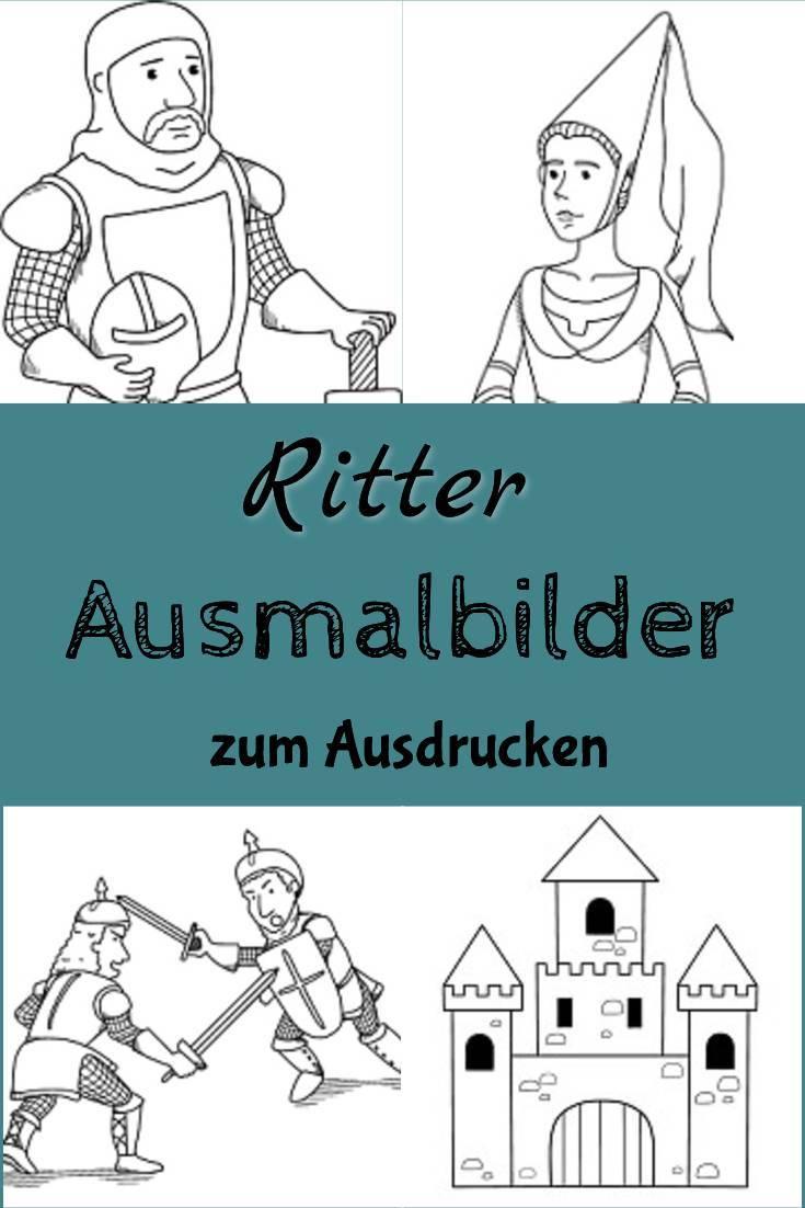 Ritter Im Kindergarten ▷ Ideen, Vorlagen + Materialien in Projekt Ritter Und Burgen Im Kindergarten