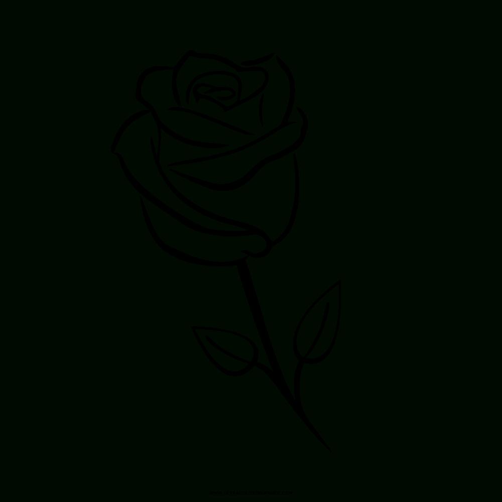 Rose Ausmalbilder - Ultra Coloring Pages bei Rose Ausmalbild
