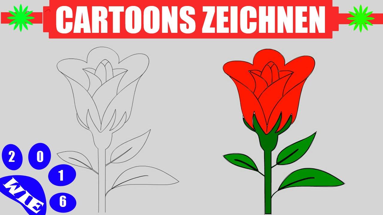 Rose Zeichnen In 60S - Zeichnen Lernen Für Anfänger & Kinder #16 verwandt mit Rosen Zeichnen Anleitung