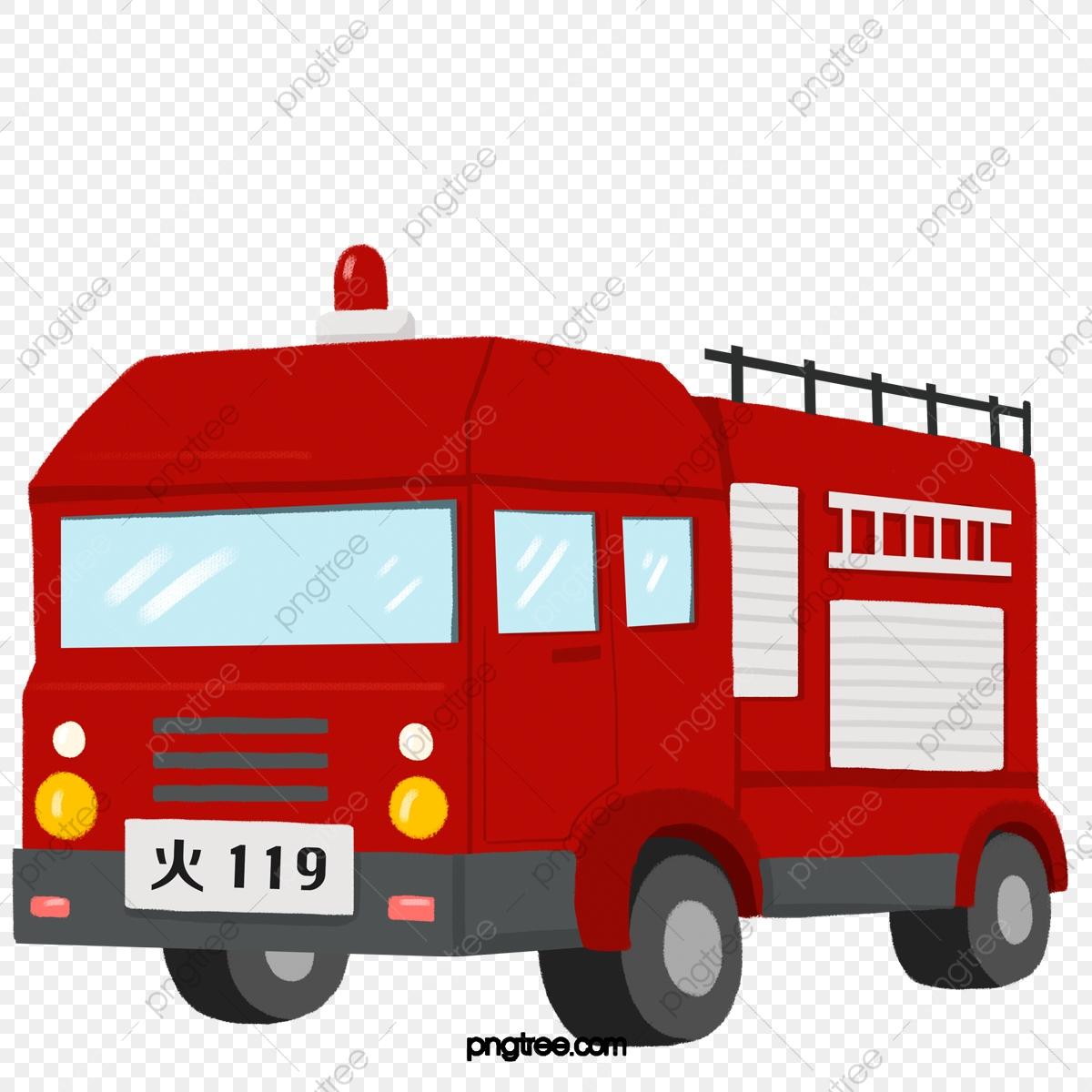 Rotes Feuerwehrauto, Die Feuerwehr, 119, Feuerbekämpfung Png bestimmt für Clipart Feuerwehrauto