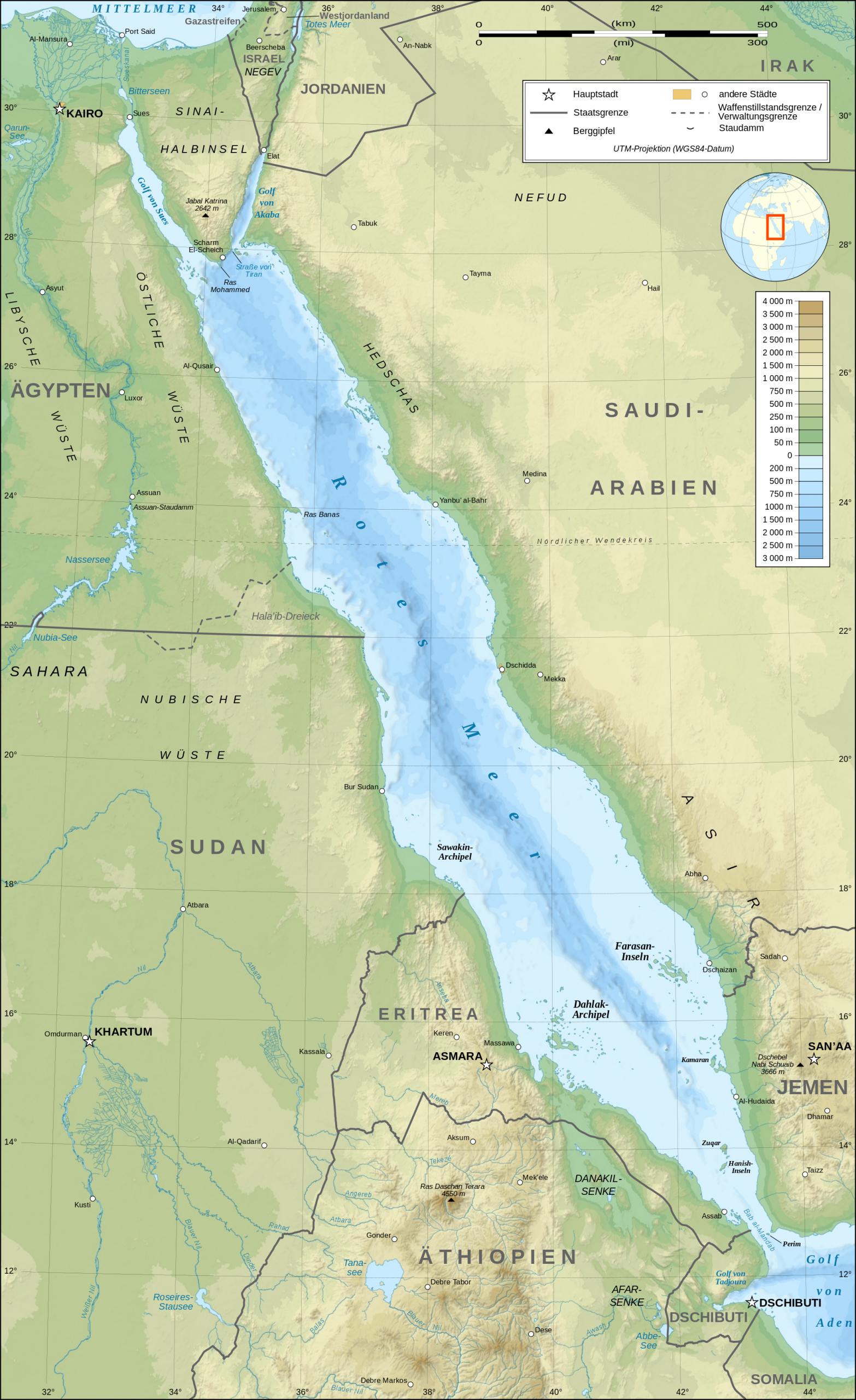 Rotes Meer – Wikipedia innen Warum Heißt Das Rote Meer Rotes Meer