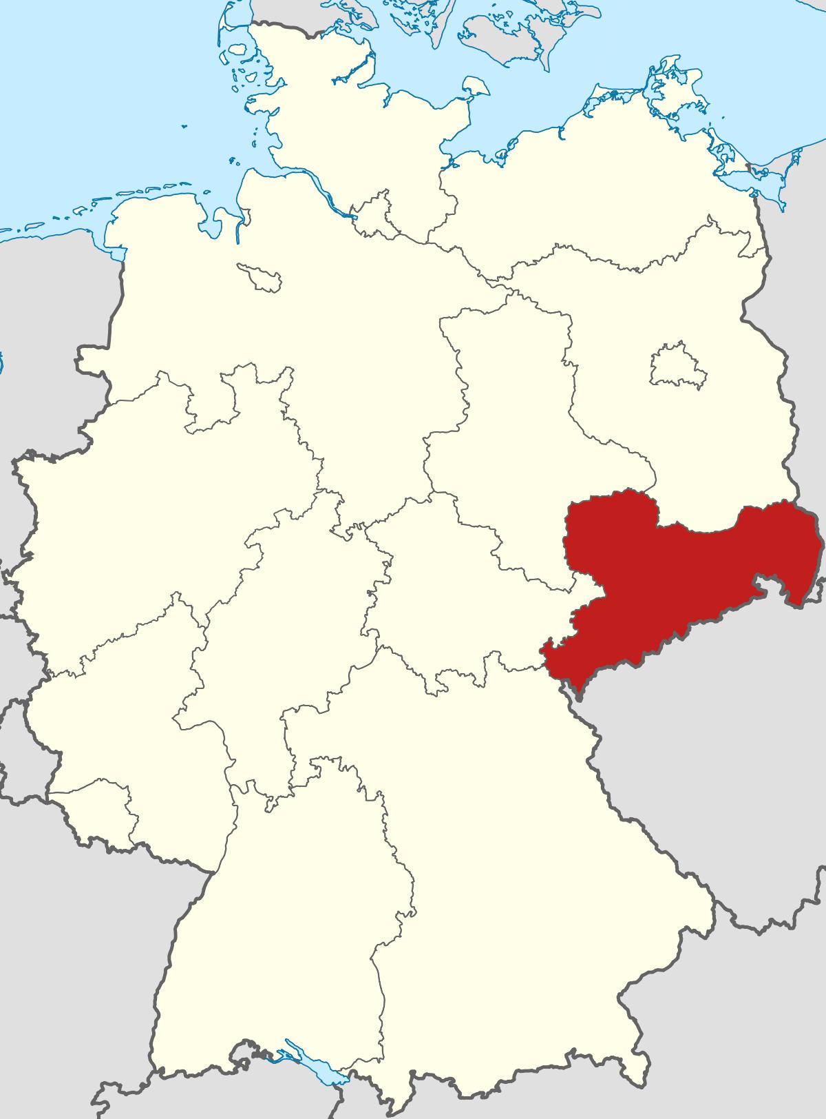 Sachsen – Wikipedia in Landeshauptstädte Deutschland Liste