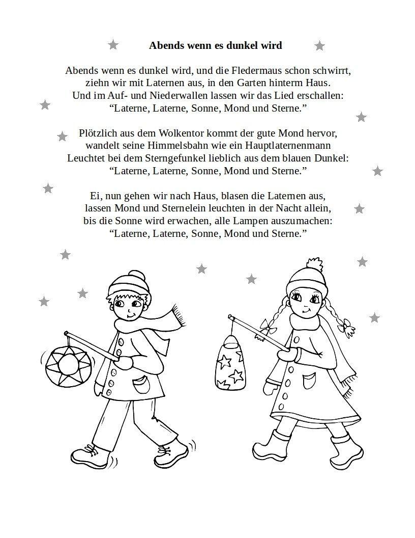 Sankt Martin | Teddylingua | Laterne Lied, Lied, Kindergedichte in Laterne Sonne Mond Und Sterne Text