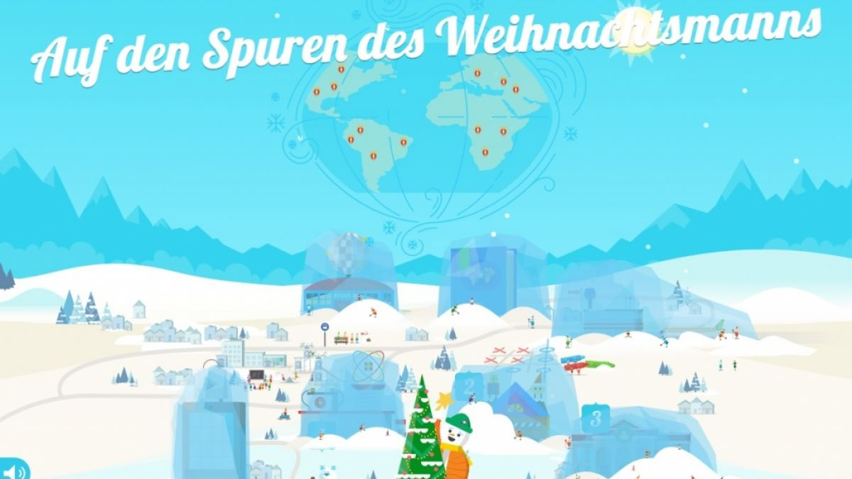 Santa Tracker 2017: Spoiler-Alarm! Das Verbirgt Sich Im mit Auf Den Spuren Des Weihnachtsmanns