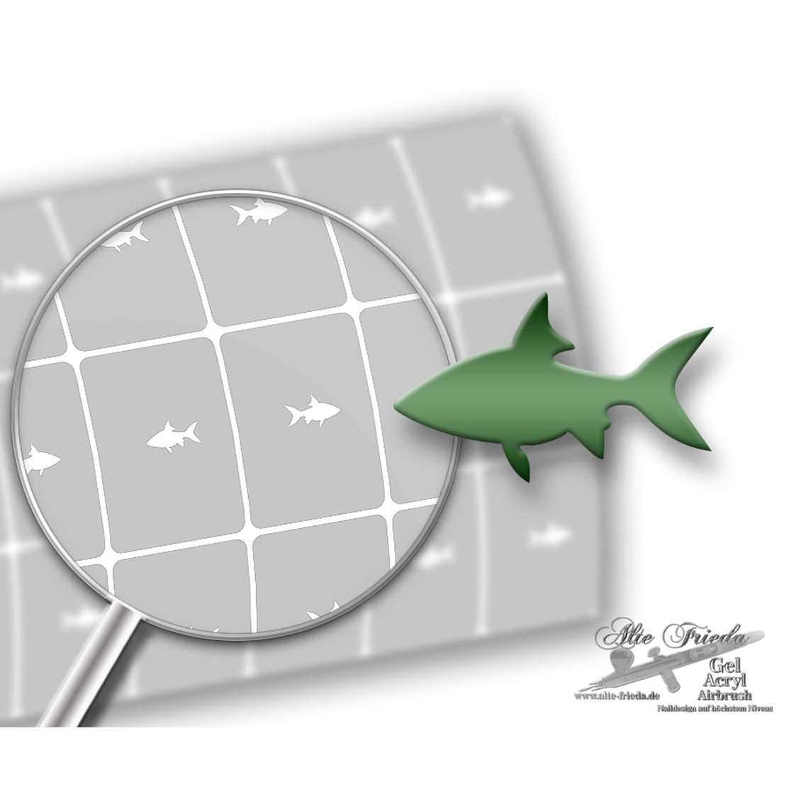 Schablone Fisch 10 für Schablone Fisch