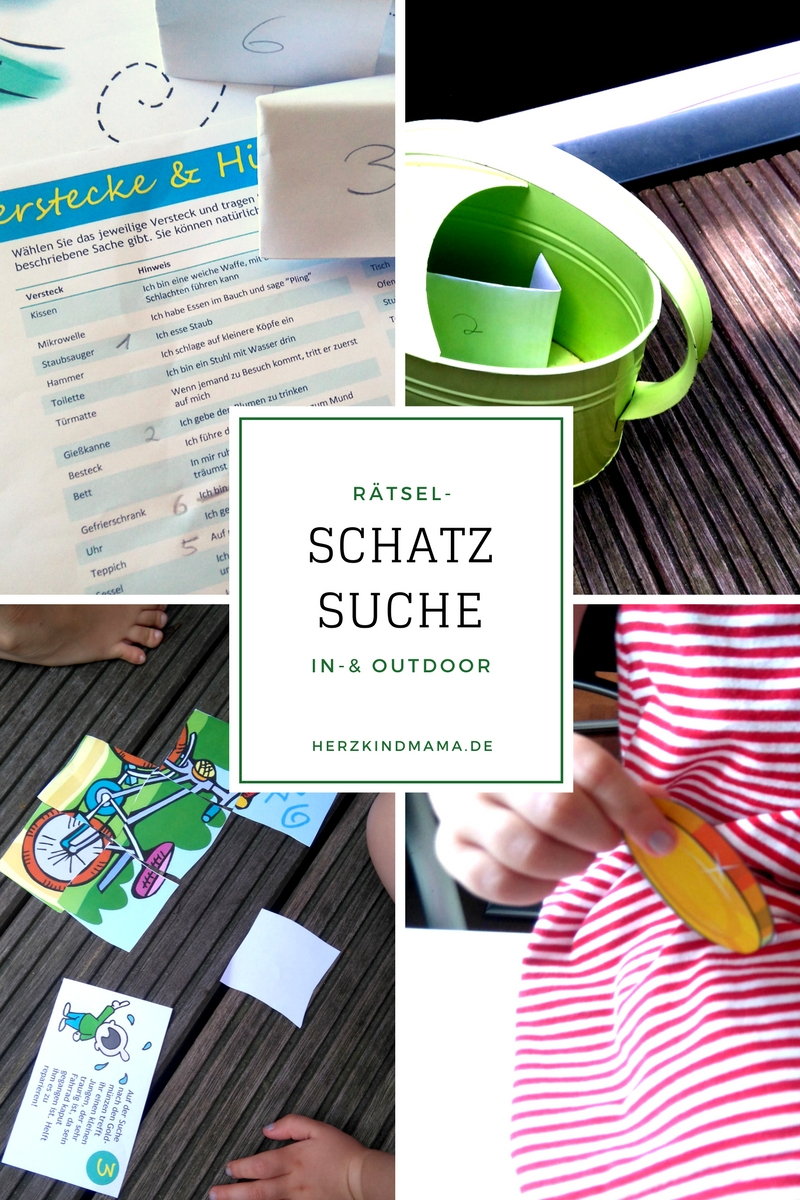 Schatzsuche - Drinnen & Draußen + Verlosung* - Herzkind bei Kindergeburtstag 11 Jährige Drinnen