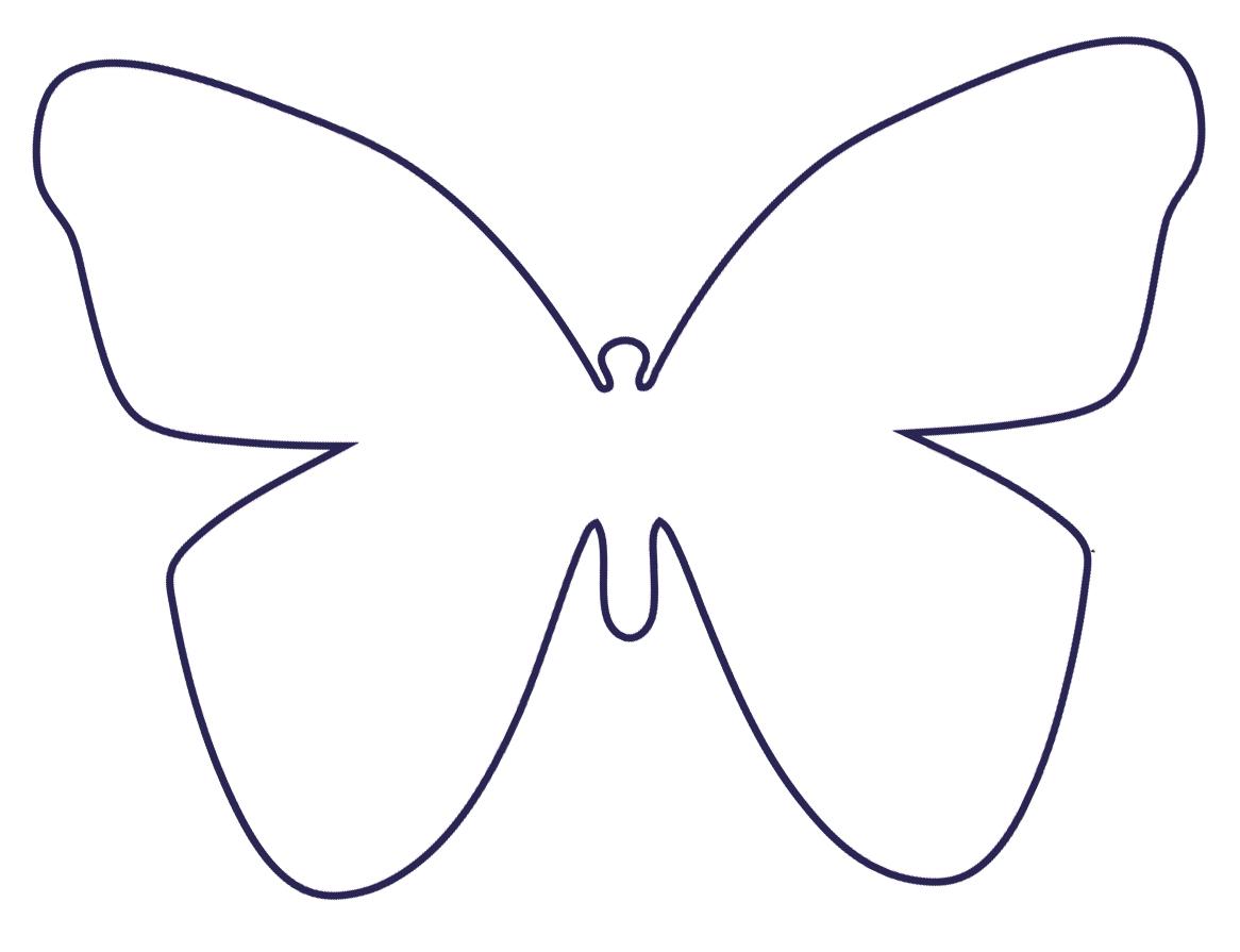 Schmetterling Basteln - Schmetterlinge Aus Filz, Papier Und in Schmetterling Vorlage