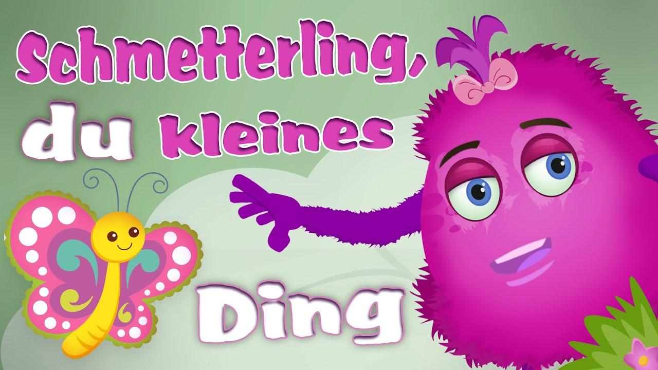 Schmetterling, Du Kleines Ding 🦋 Spiel- Und Bewegungslieder Für Kinder •  Kinderliedergarten über Schmetterling Du Kleines Ding Such Dir Eine Tänzerin