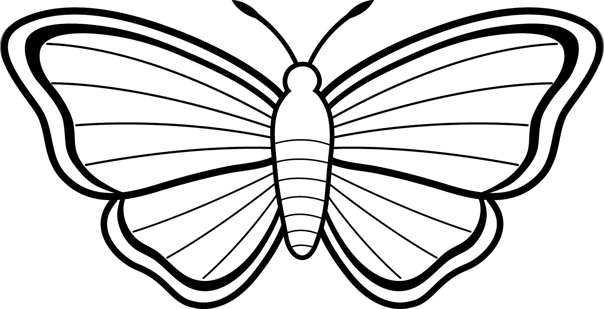 Schmetterling Schablone Zum Ausschneiden - 1Ausmalbilder bestimmt für Schablone Schmetterling Kostenlos