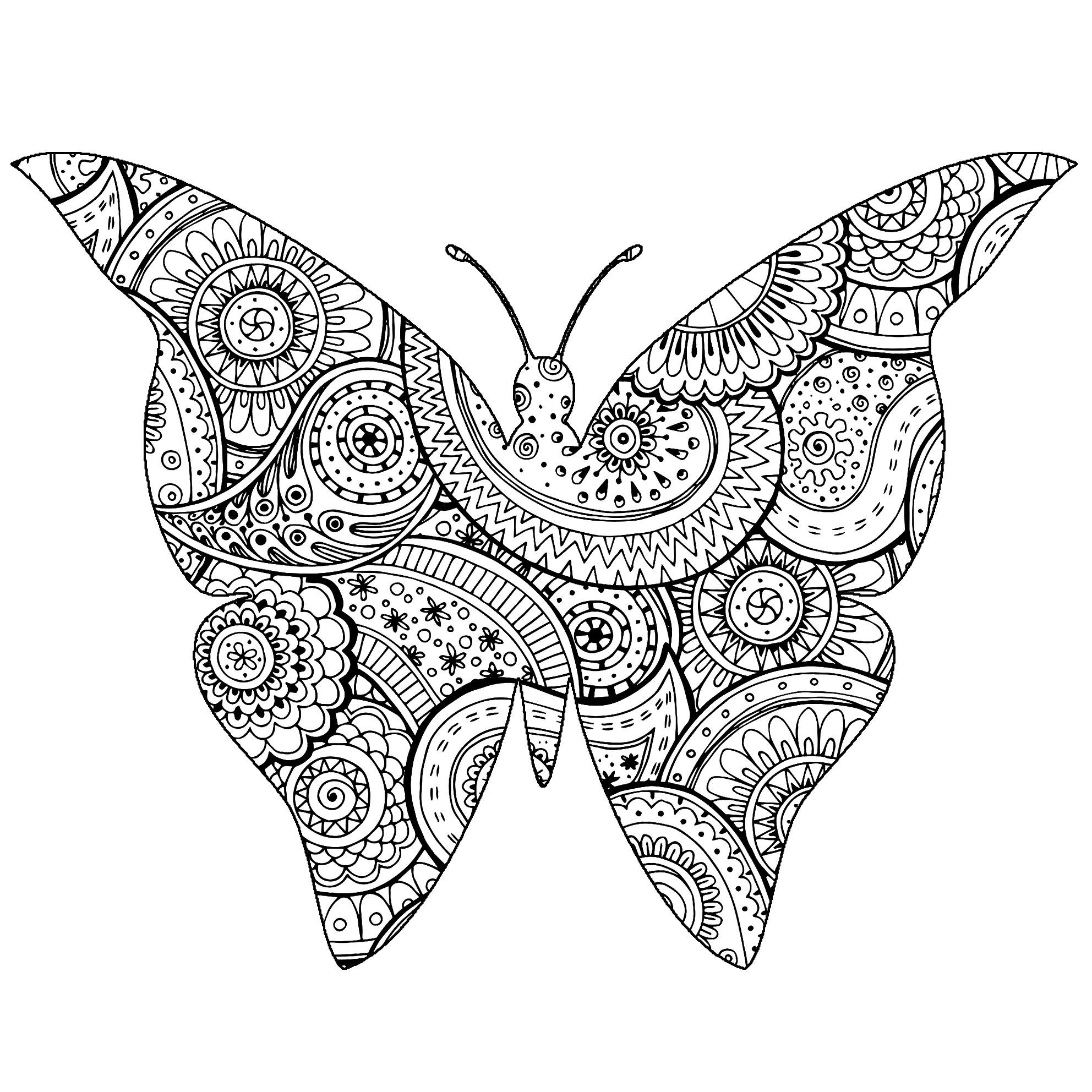 Schmetterlinge Und Insekten 46683 - Schmetterlinge Und innen Schmetterlinge Insekten