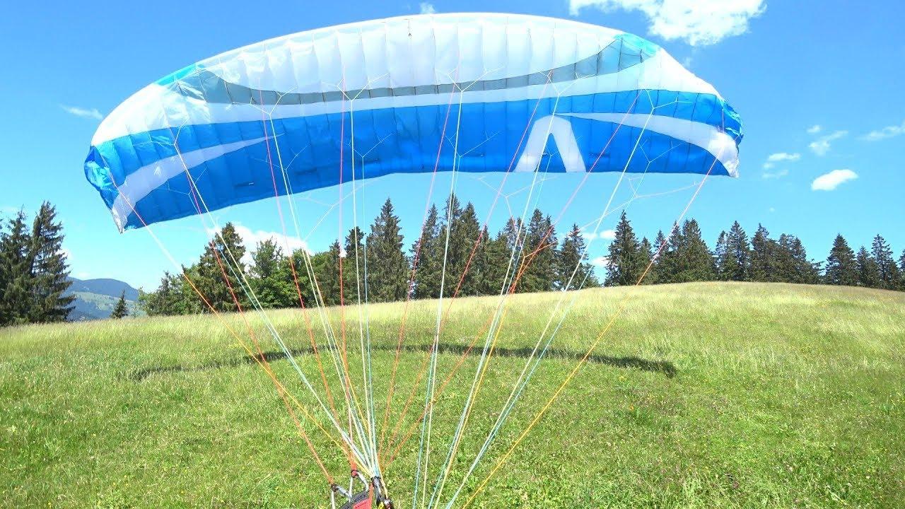 Schneckenkopf Schwarzwald Paragliding innen Gleitschirmfliegen Schwarzwald