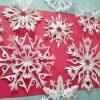Schneeflocken Aus Papier ( Einfach Und Schnell ) innen Schneeflocken Aus Papier Schneiden