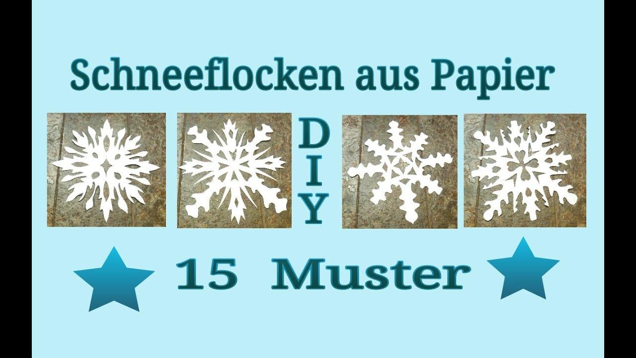 Schneeflocken Aus Papier Schneiden ganzes Schneeflocken Vorlage