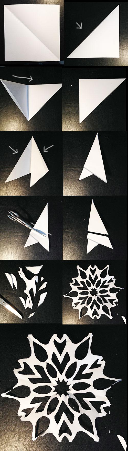Schneeflocken-Ballerina-Aus-Papier - Weihnachtszeit - Designblog in Schneeflocken Aus Papier Schneiden