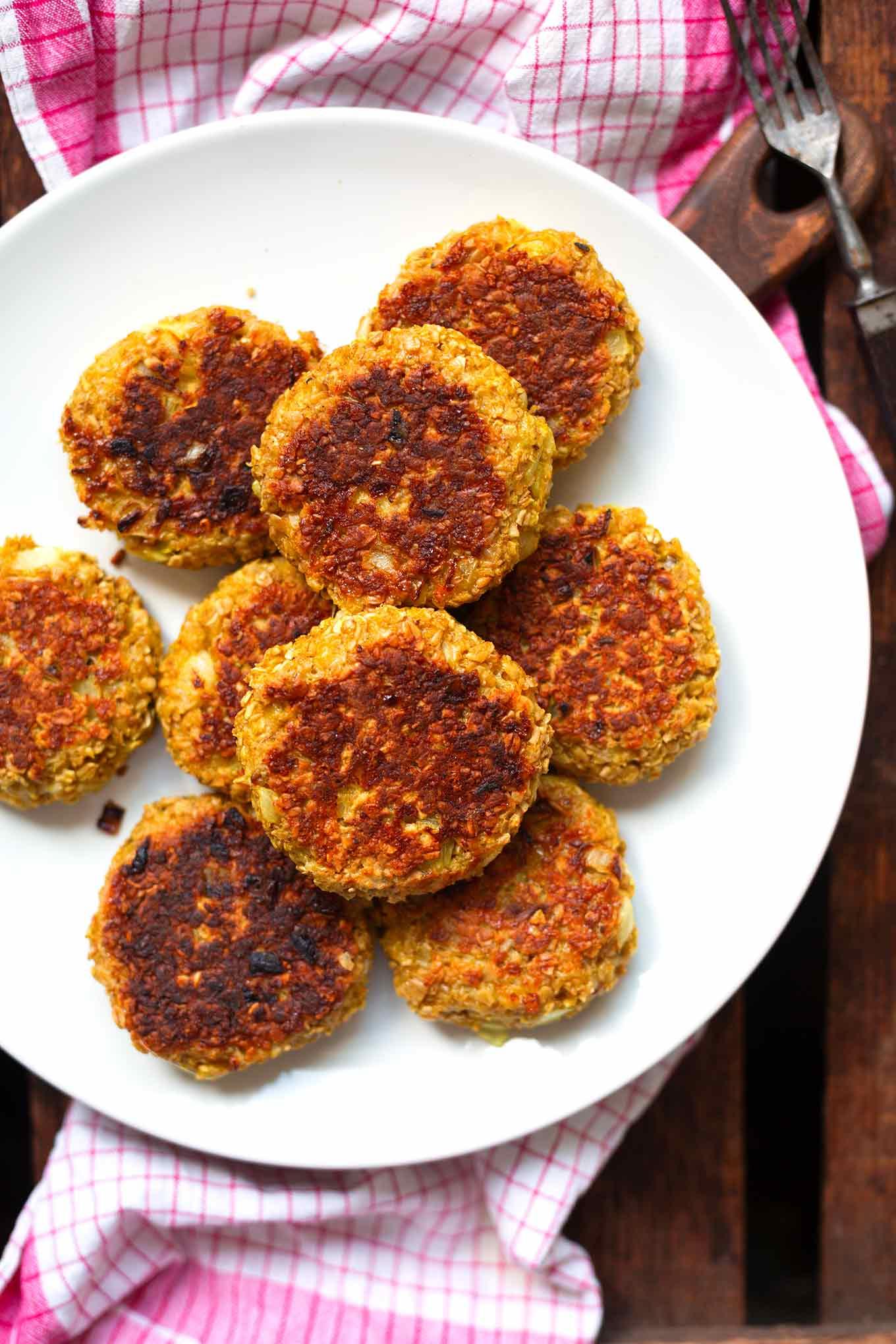 Schnelle Veggie Frikadellen Deluxe - Kochkarussell für Einfache Schnelle Rezepte Ohne Fleisch