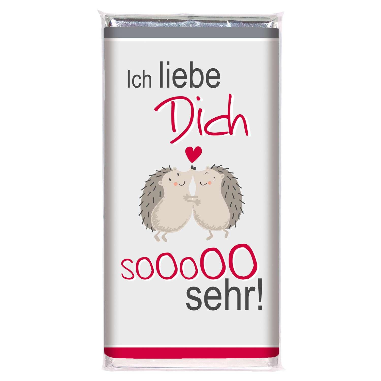 """Schokolade """"ich Liebe Dich!"""" für Bilder Ich Lieb Dich"""