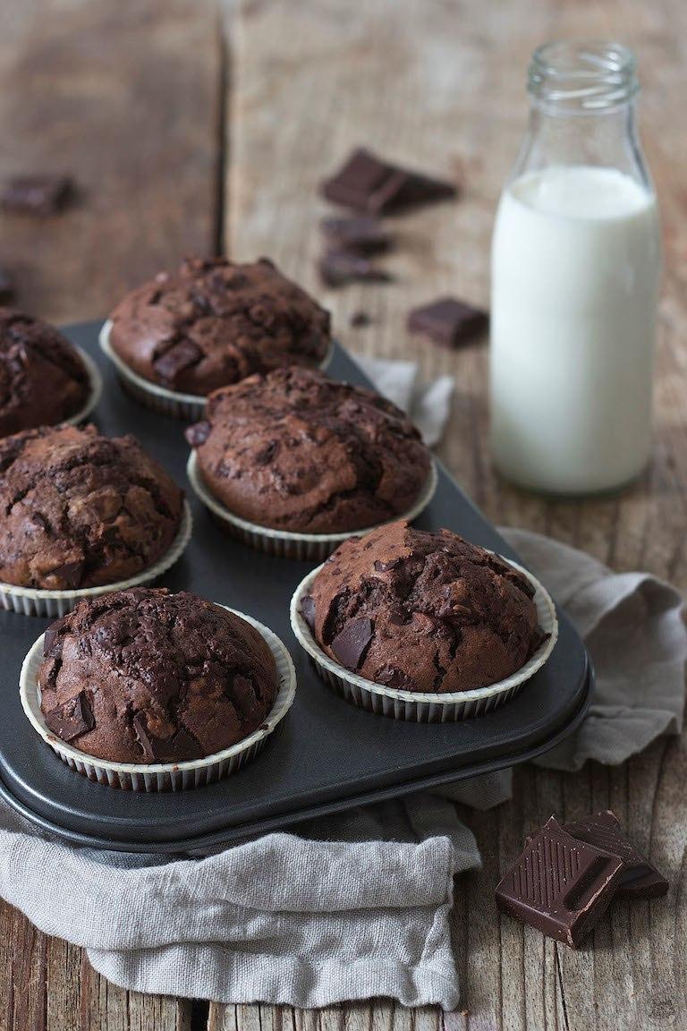 Schokomuffins mit Muffins Rezepte Einfach Schnell Lecker