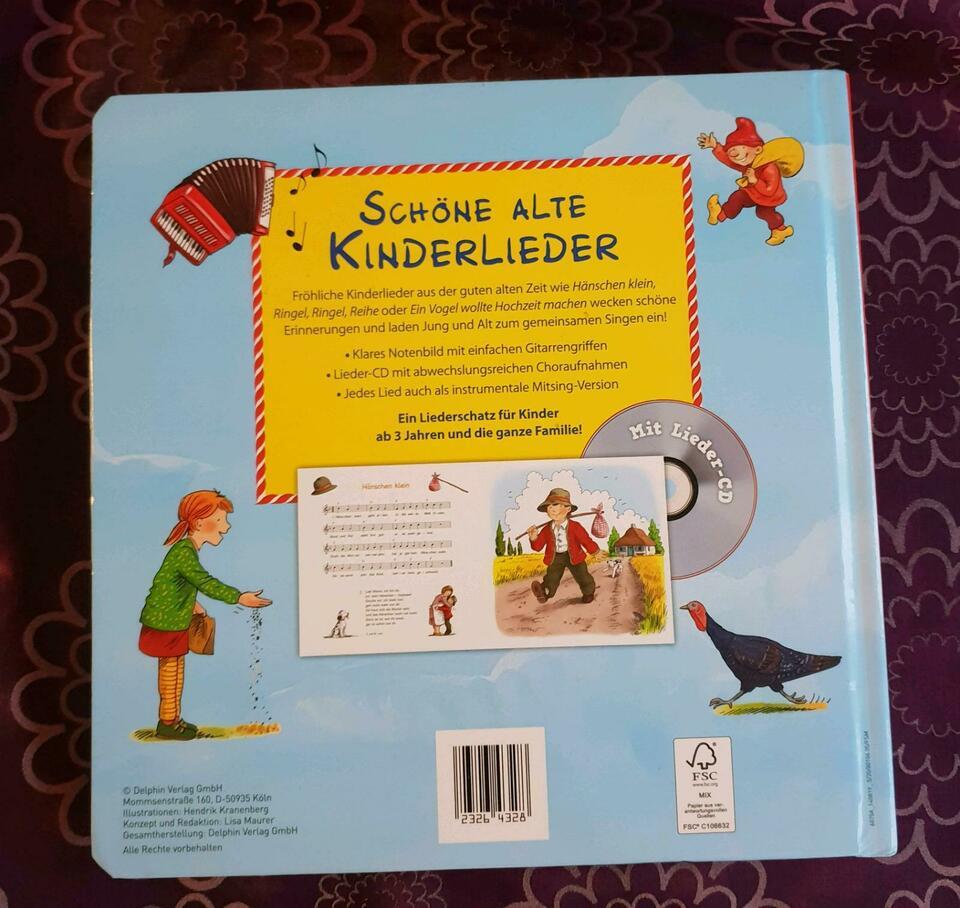 Schöne Alte Kinderlieder Buch - Mit Lieder-Cd. Alle Lieder Gesung mit Buch Kinderlieder Aus Der Guten Alten Zeit