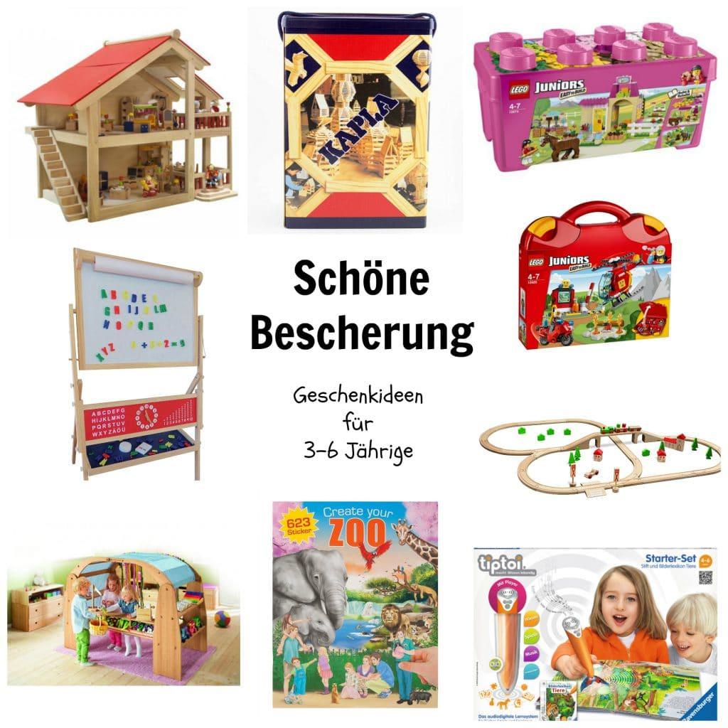 Schöne Bescherung: Geschenkideen Für 3 Bis 6-Jährige in Geschenkideen Für 6 Jährige Mädchen