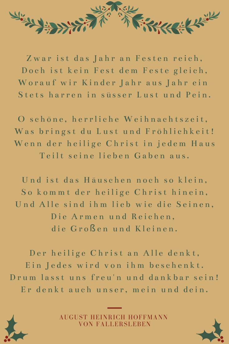 Schöne ✵ Weihnachtsgedichte ✵ Kostenlos Nur Für Sie! bei Rainer Maria Rilke Weihnachtsgedichte