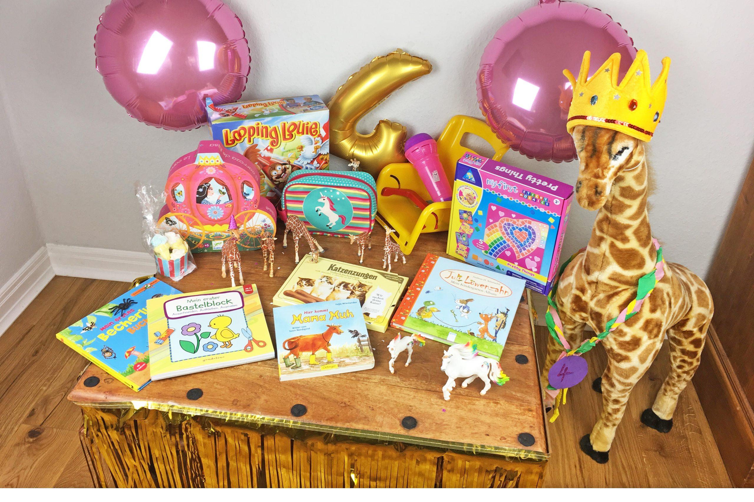 Schöne Geschenke Zum 4. Geburtstag - Mädchenmutter mit Spiele Zum Kindergeburtstag Für 4 Jährige