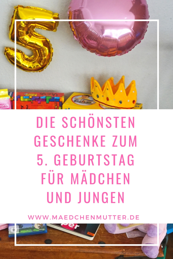 Schöne Geschenke Zum 5. Geburtstag - Mädchenmutter in Geschenk Junge 5 Geburtstag