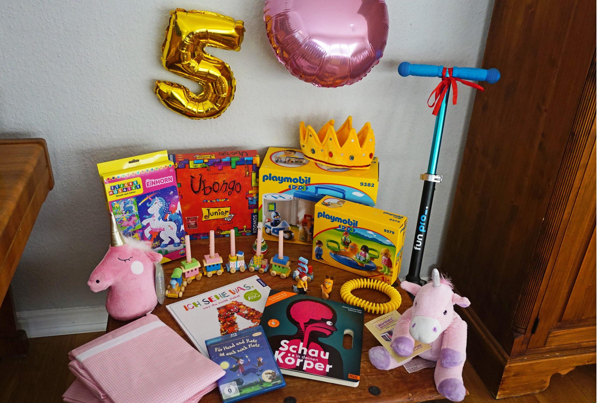 Schöne Geschenke Zum 5. Geburtstag - Mädchenmutter mit Geburtstagsgeschenk Für 4 Jähriges Mädchen