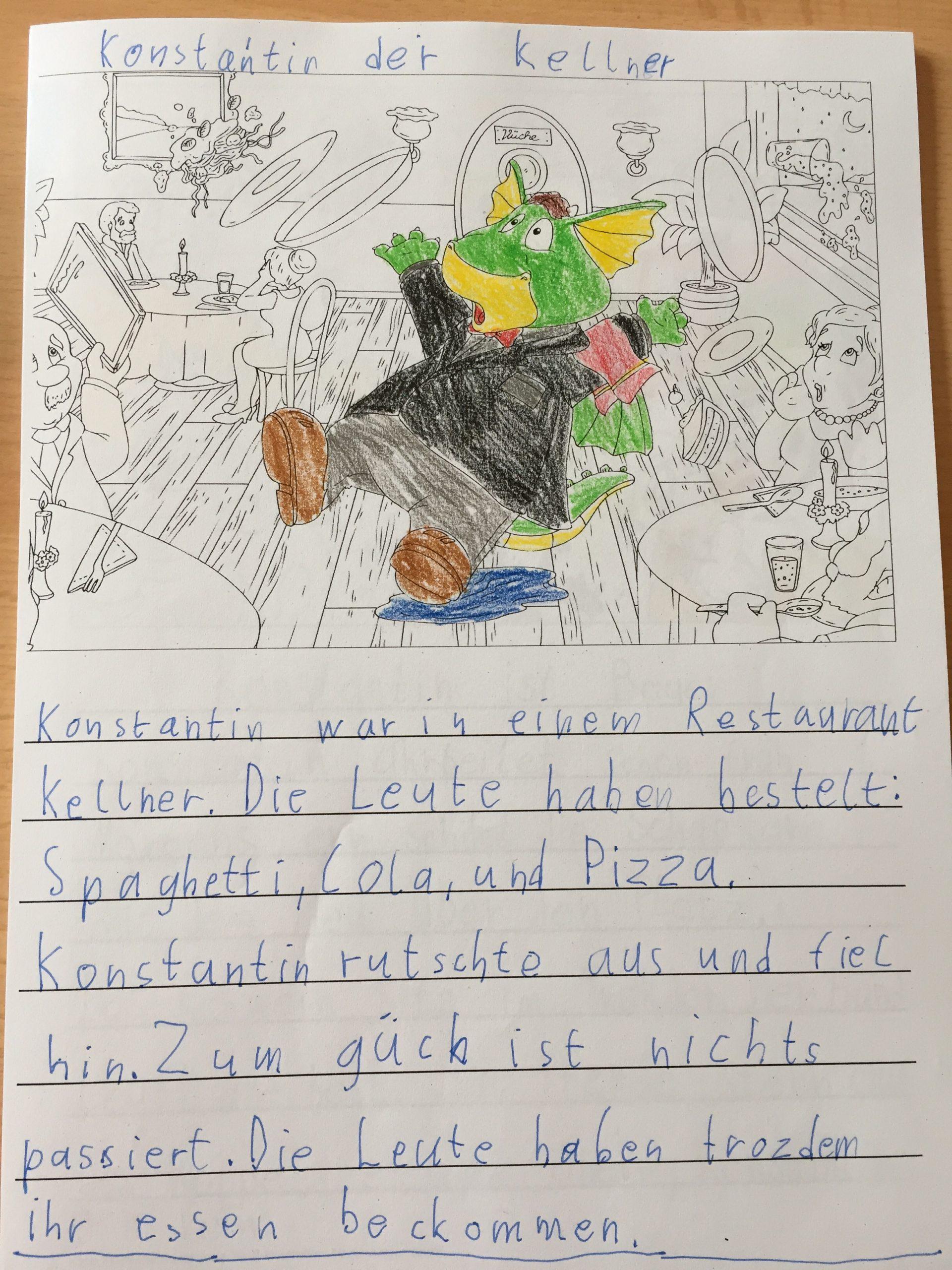 Schreibanlass – Prima(R)Blog bestimmt für Feriengeschichte Schreiben Grundschule