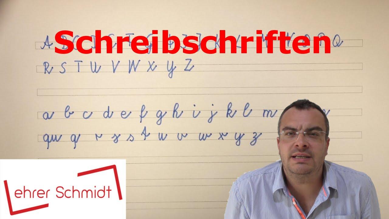 Schreibschrift - Lateinische Und Vereinfachte Ausgangsschrift -  Grundschrift   Lehrerschmidt für Schreibschrift P