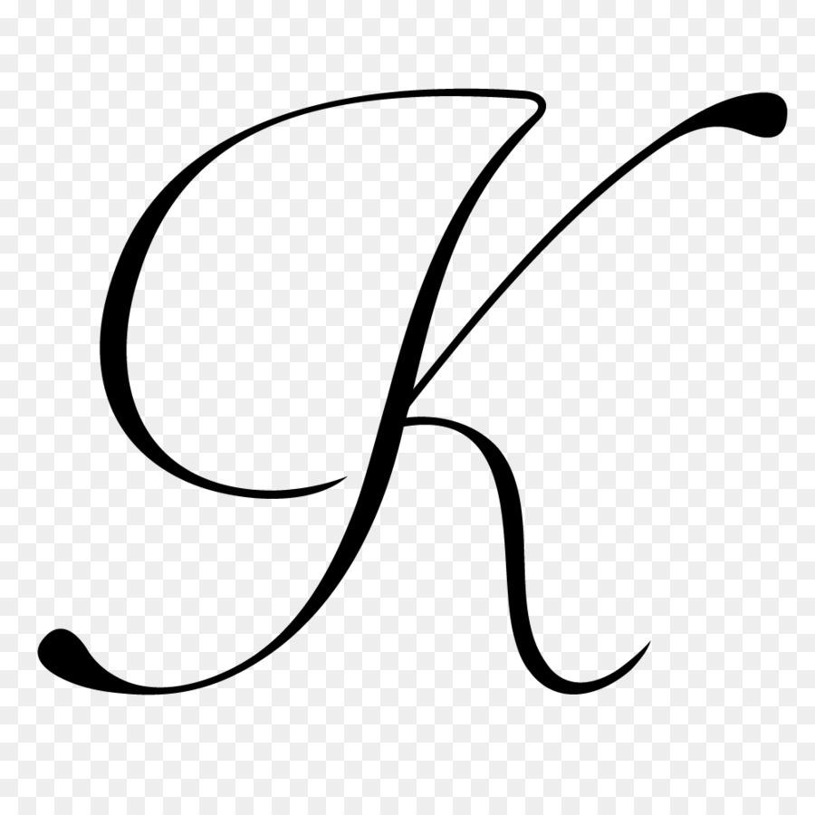 Schriftzug K Kursive Clip-Art - Andere Png Herunterladen in K Schreibschrift