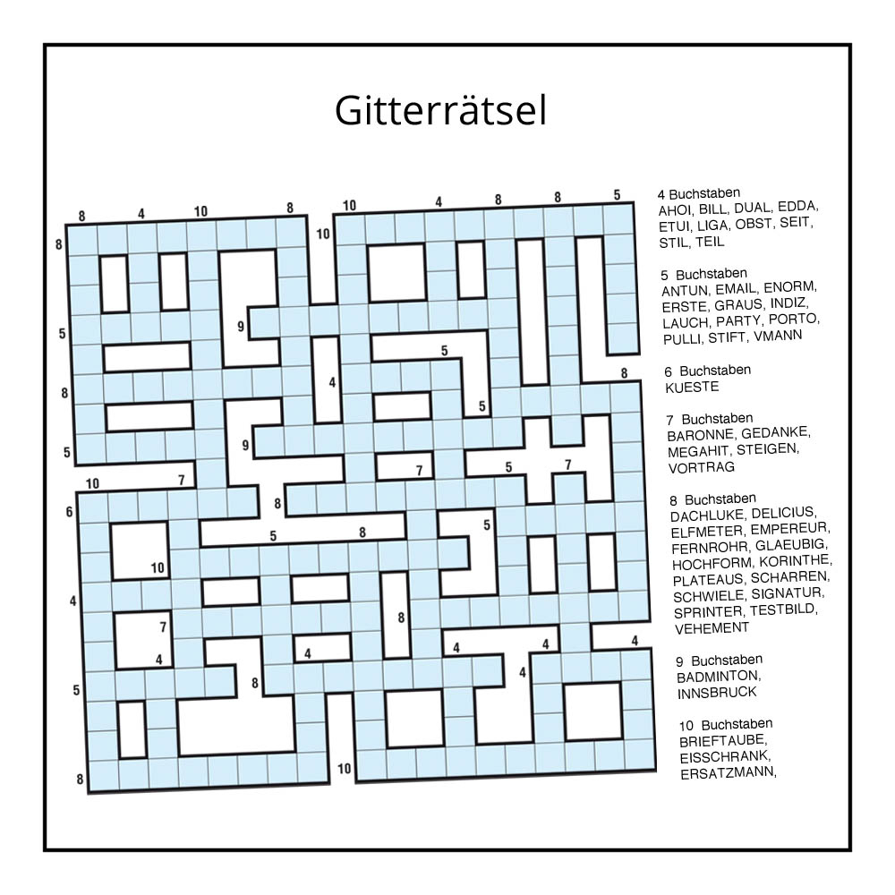 Schwedenrätsel, Sudoku Und Vieles Mehr Für Ihre Printmedien mit Schwedenrätsel Ausdrucken