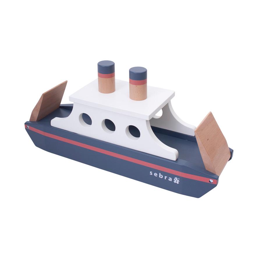 Sebra Schiff Aus Holz mit Schiff Zeichnung